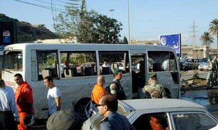 Lebanese troops stand guard in Tripoli
