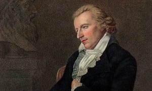 Portrait of German dramatist and poet Johann Christoph Friedrich Von Schiller that died 203 years ago