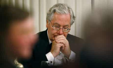 Mervyn King, the governor of the Bank of England