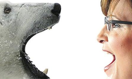 Polar bear v Sarah Palin