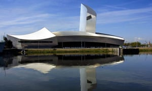 The Imperial War Museum North in Salford