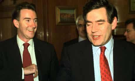 Gordon Brown and Peter Mandelson