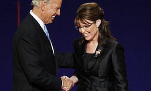 Joe Biden, Sarah Palin, vice-presidential debate
