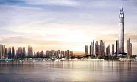New Nakheel tower