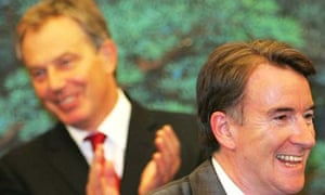 Tony Blair and Peter Mandelson