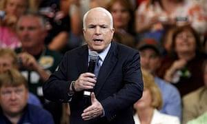 John McCain rally