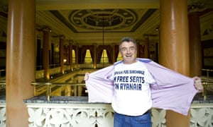 Michael O'Leary, the chief executive of Ryanair