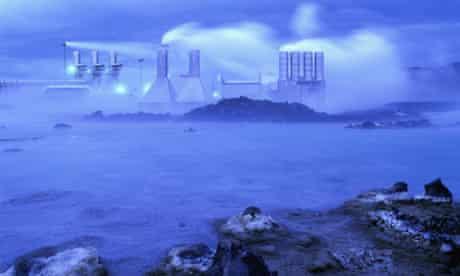 The Svartsengi geothermal power plant