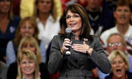 US election campaign: Sarah Palin