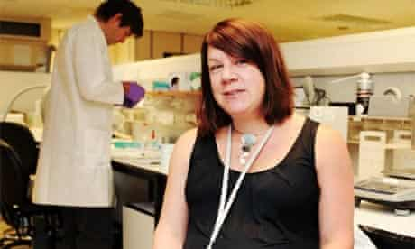 Jane Newman, a deaf manager at the Forensic Science Service