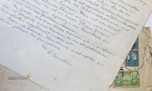 einstein handwritten letter