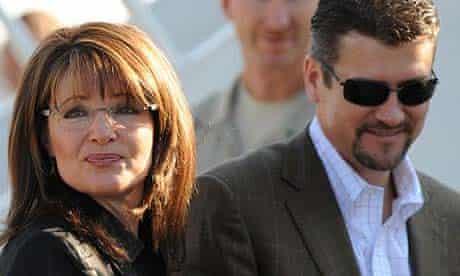 Sarah Palin with her husband, Todd