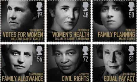 Royal Mail stamps, Women of Distinction