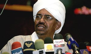 The Sudanese president, Omar al-Bashir