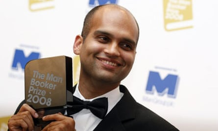 Aravind Adiga winning the Booker prize