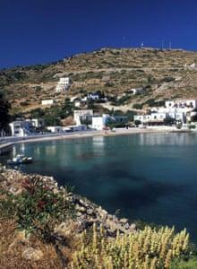 The island of Agathonisi, population 150