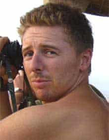 Corporal Mark Wright in a picture released by the army