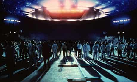 Close encounters of the third kind, directed by Steven Spielberg (1977)