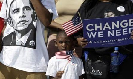 US election campaign: Barack Obama