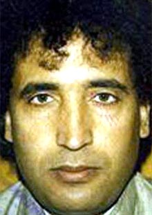 Abdelbaset Ali Mohmed al-Megrahi, who is serving a life sentence for the 1988 Lockerbie bombing