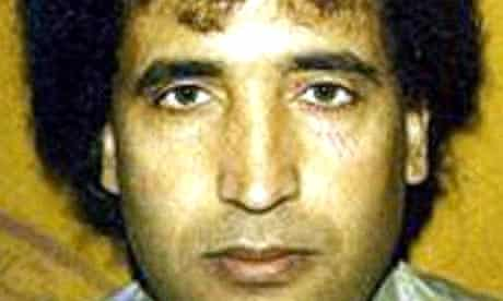 Abdelbaset Ali Mohmed al-Megrahi, who is serving a life sentence for the 1988 Lockerbie bombing