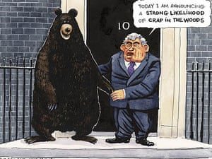 23.10.08: Steve Bell and his bear of recession