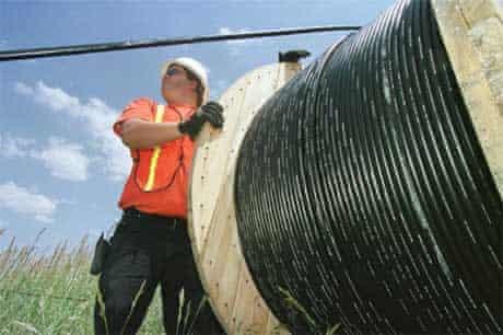 fibre optic cable broadband