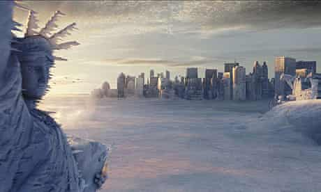 Statue of Liberty: A scene from the film The Day after Tomorrow