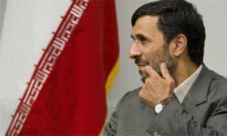 Mahmoud Ahmadinejad this week