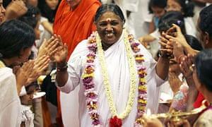Mata Amritanandamayi Devi, better known as Amma