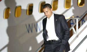 Barack Obama arrives in Hawaii to visit his ailing grandmother