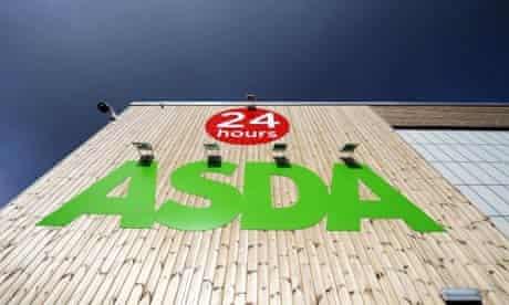 24 hours sign outside Asda