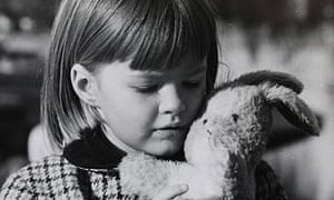 A photo of Sarah Cracknell as a child, taken by her father