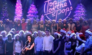 Goodbye to all that? Katie Melua on last year's Christmas show