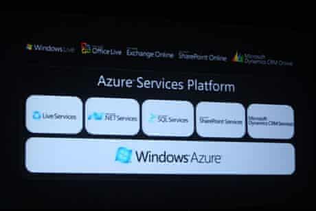 azure microsoft's cloud system