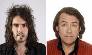 Russell Brand and Jonathan Ross composite