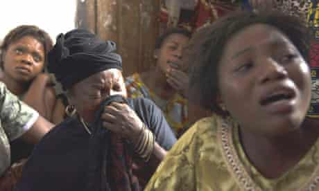 Goma residents mourn two women