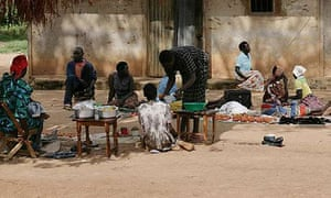 Tirri market in Katine, Uganda