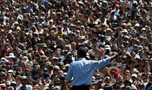 Barack Obama analysis: Barack Obama speaks to a crowd at Waterfront Park in Portland