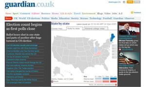 US election 2008 12am screengrab