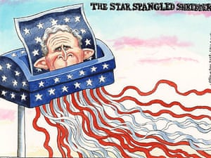 05.11.08: Steve Bell on the fate of George Bush