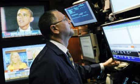 Barack Obama, new york stock exchange