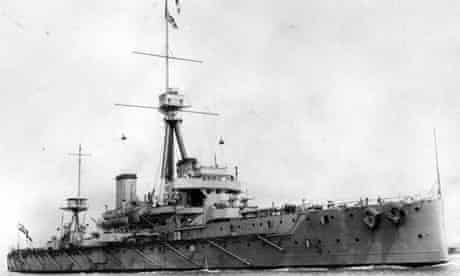 HMS Dreadnought 1909 British warship