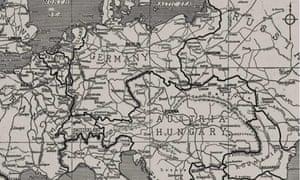 Europe's boundaries in 1914