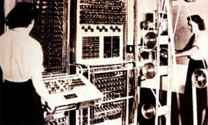 Colossus Bletchley Park archive photograph