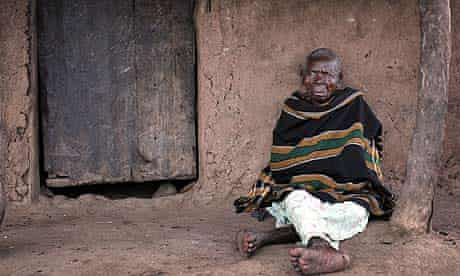 Katine: Esther Apudo, said to be 114 years old