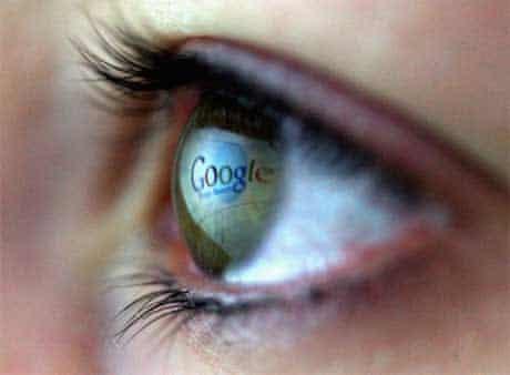 google in the eye