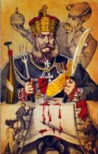 1871 Vanity Fair cartoon of Kaiser Wilhelm I