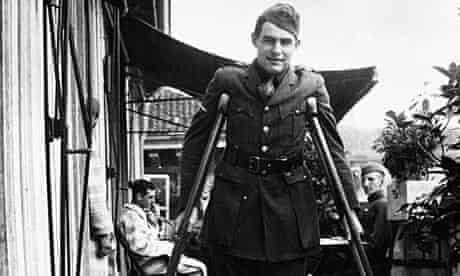 Ernest Hemingway in uniform