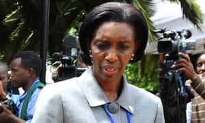 Rose Kabuye, in Nairobi for an emergency summit on Congo